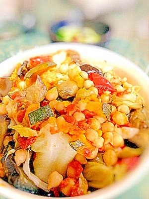 簡単☆残り野菜のカポナータ