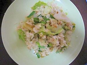 レタス&葱炒飯