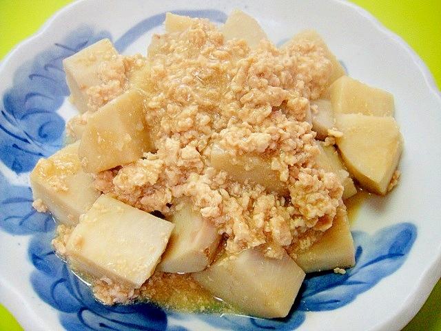 3. 京いもの味噌そぼろ煮