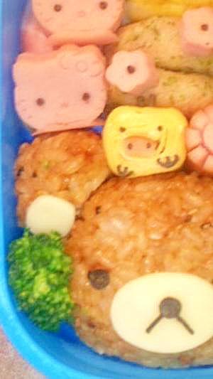 キャラ弁☆キイロトリ卵焼き
