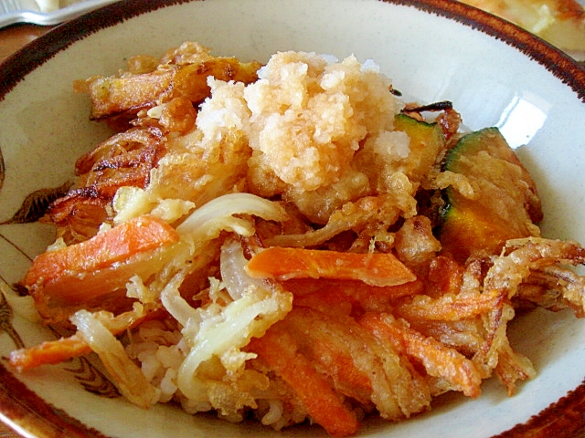 天ぷらおろし丼