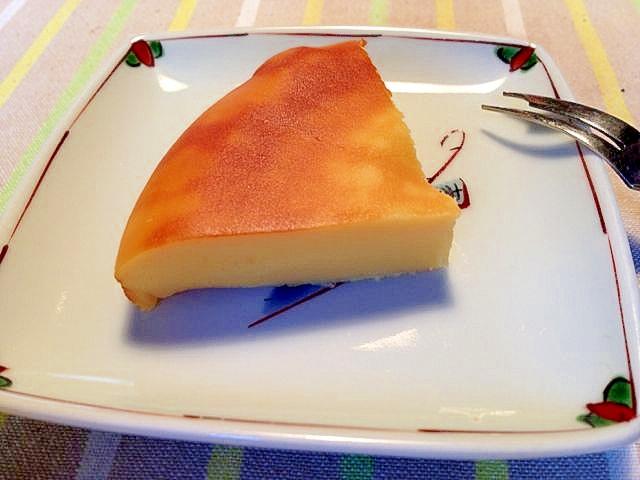 超簡単!ベイクトチーズケーキ(パニール使用)