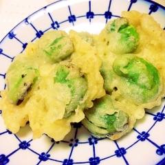 そら豆の美味しい天ぷらの揚げ方