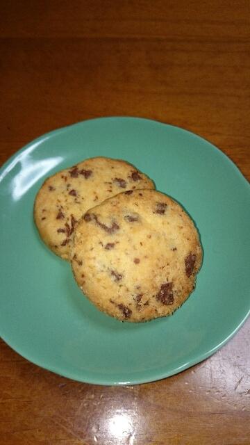 1.ホットケーキミックスでアメリカンクッキー