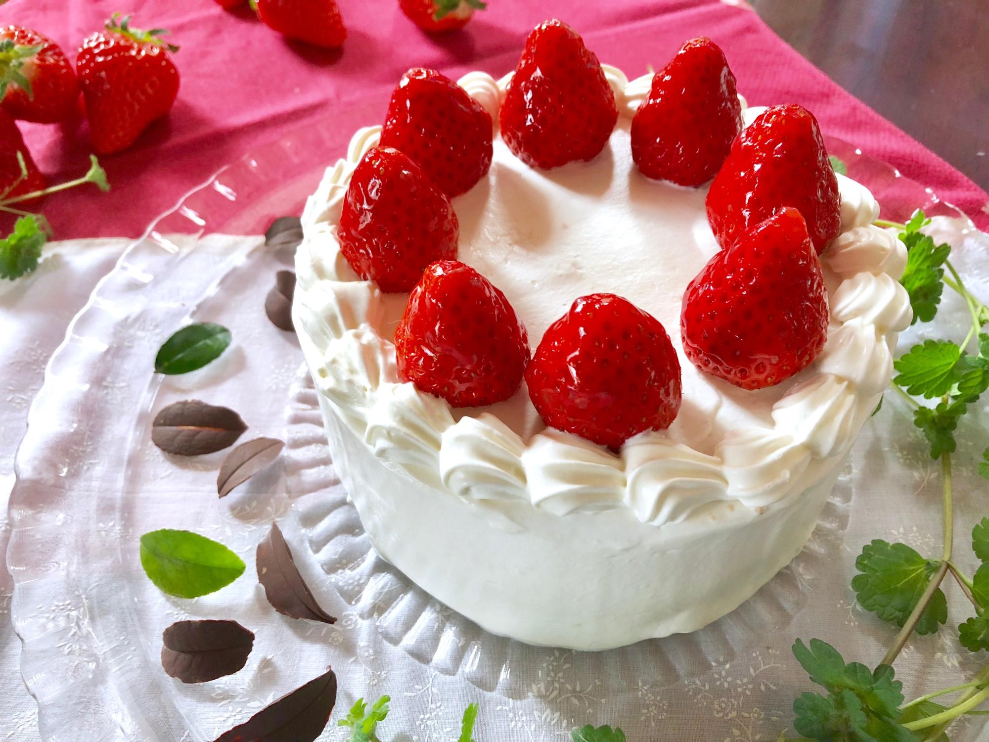 1. ショートケーキ