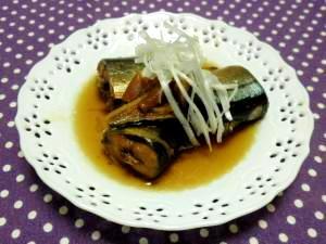 缶詰の味♪圧力鍋でサンマの生姜煮