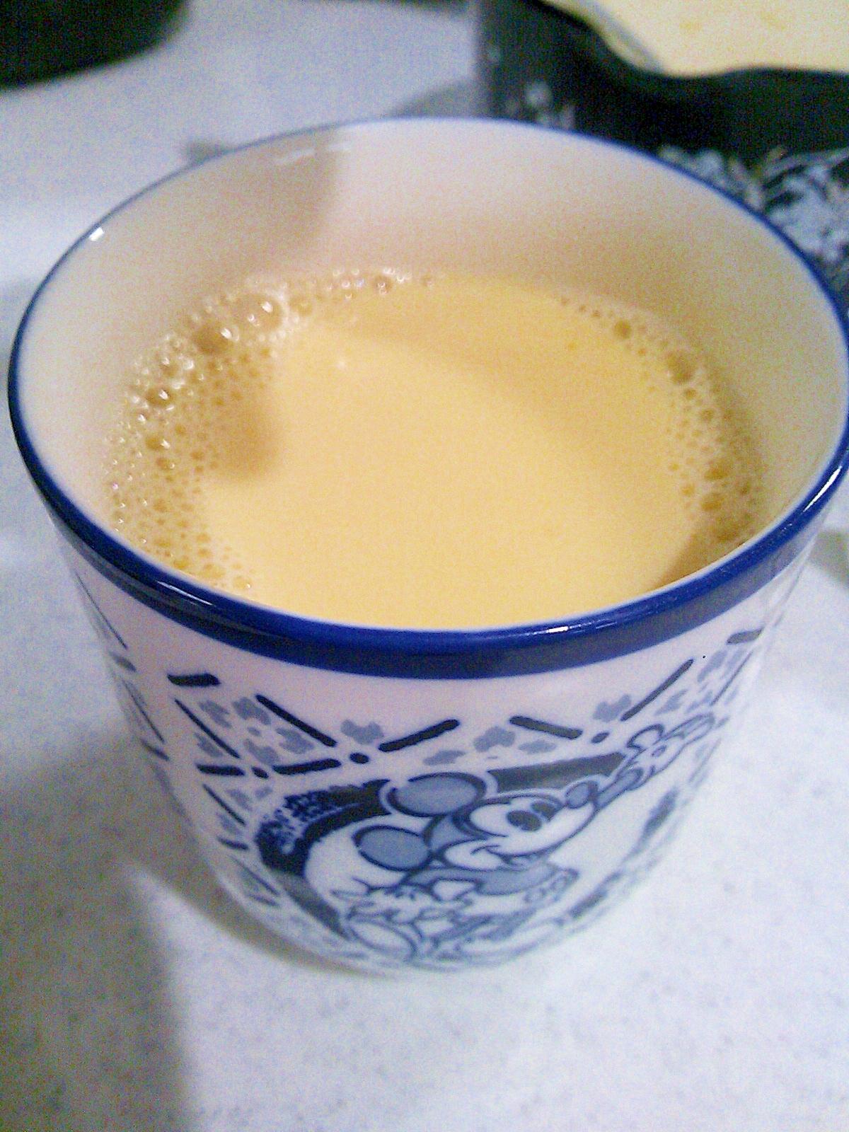 【糖質制限】低糖質な無調整豆乳でエッグノッグ