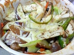 ししゃも野菜オーブン焼き