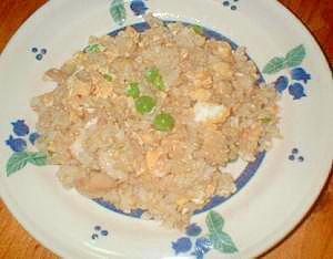 玄米たまご炒飯
