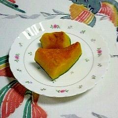 常備菜としての、南瓜の煮物