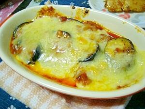 簡単!(/・ω・)/茄子のトマトチーズ焼