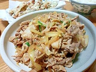 安い&ウマい☆豚こまのウスターソース炒め