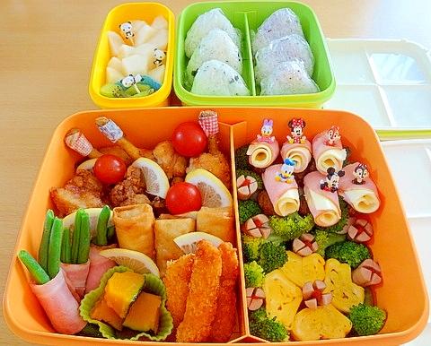 運動会のお弁当☆2013