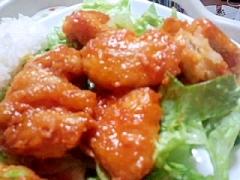 安く簡単に作れる♪エビマヨならぬ「鶏マヨ」