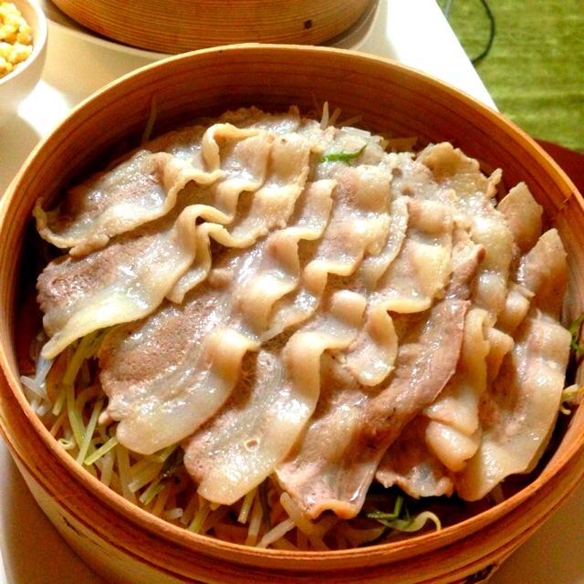 豚肉のセイロ蒸し レシピ・作り方 by 8葉っぱ8|楽天レシピ