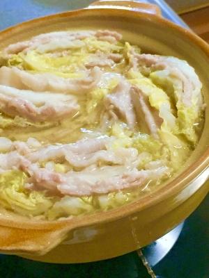 白菜 豚肉 ミルフィーユ