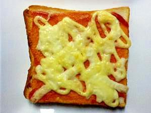 簡単美味しい!チーズトースト☆