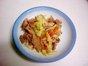 豚肉と野菜の洋風コンソメ炒め
