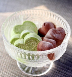 おから感なし☆抹茶とチョコのガリガリ食感アイス♪