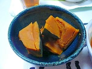 かぼちゃの煮物。