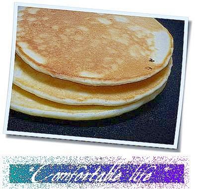 """☆""""ヨーグルトinで簡単にふわふわパンケーキ"""