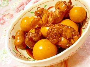 貧血予防にも鶏きんかんの生姜煮付