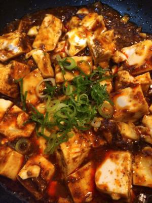 豆腐 辛い マーボー
