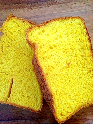 HBで!南瓜とヤクルトの食パン★