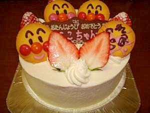 子供も喜ぶアンパンマンケーキ レシピ・作り方 by へのつっぱりはいらんですよ 楽天レシピ