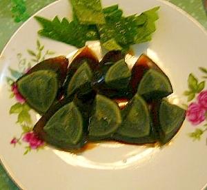 ピータンの甘醤油サラダ