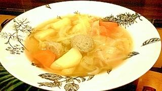 簡単お野菜ポトフ