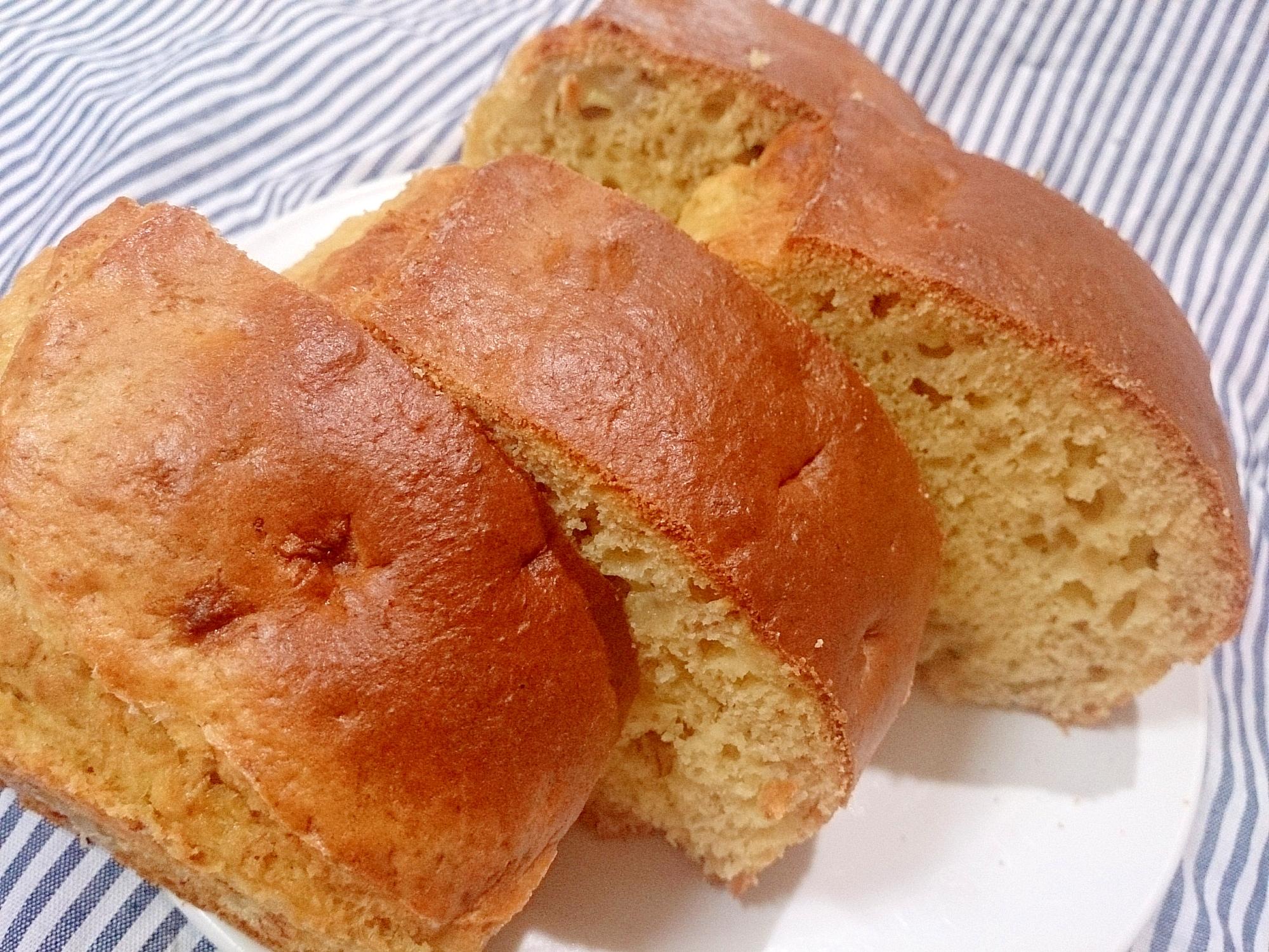 バナナパウンドケーキ(ノンフライヤー)