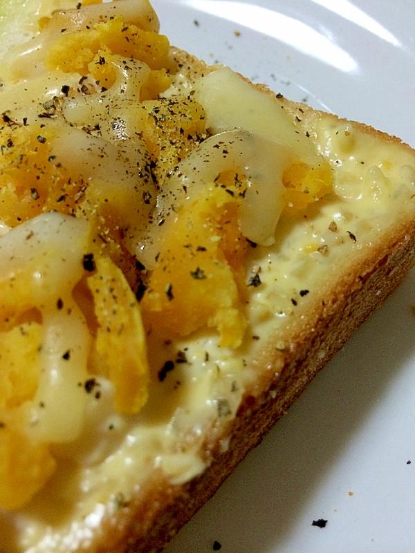 タルタルポテチーズ*トースト