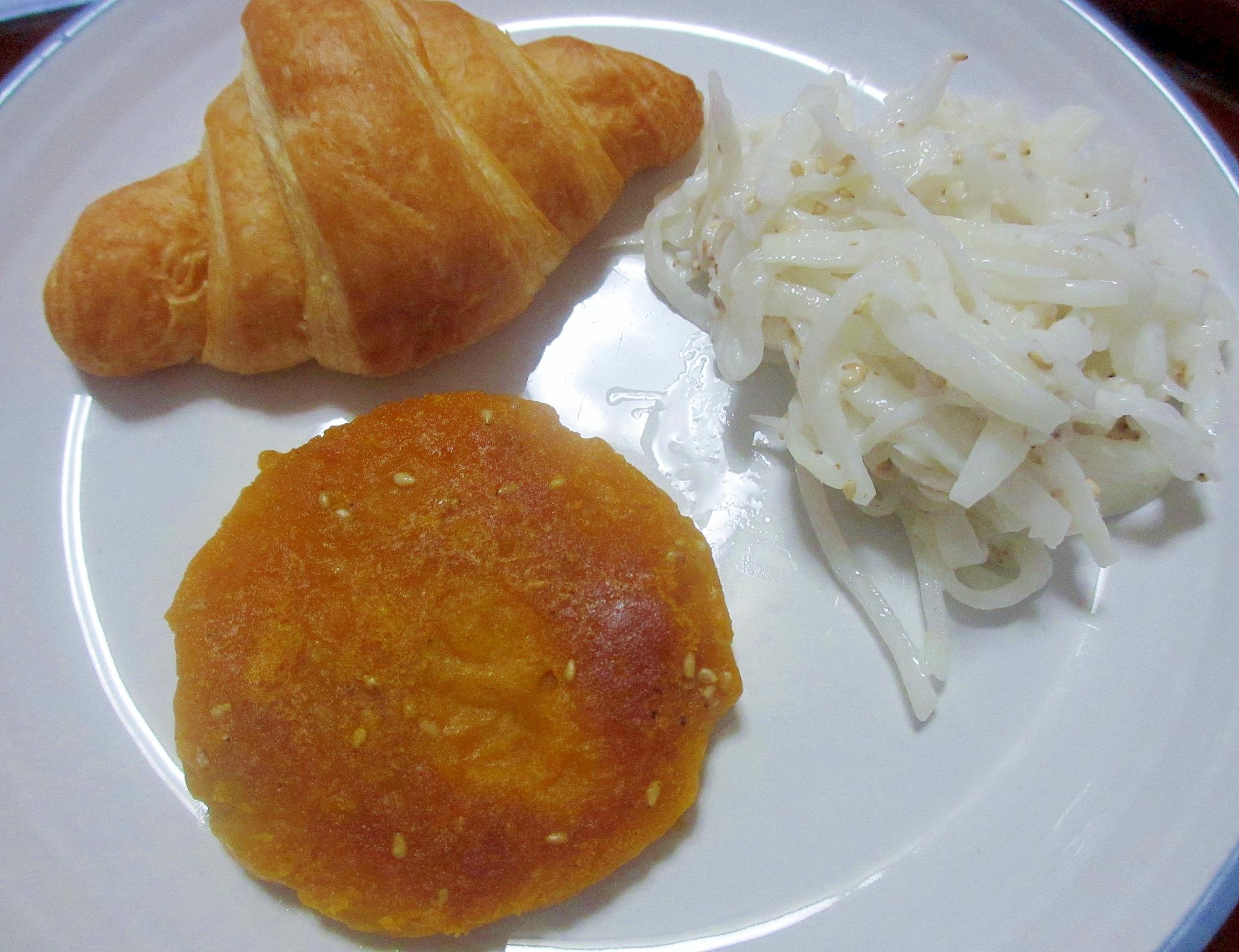 ヘルシーかぼちゃおやき&大根サラダのワンプレート