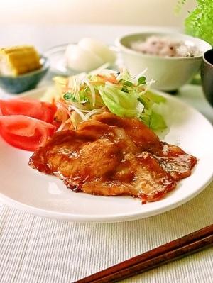 豚肉 しょうが 焼き レシピ