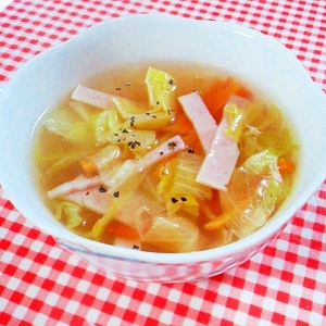 コンソメ スープ 作り方