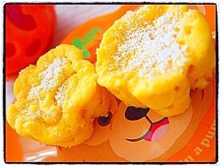 ヘルシー★おからかぼちゃカップケーキ
