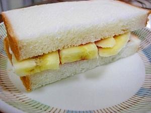 バナナジャムサンド