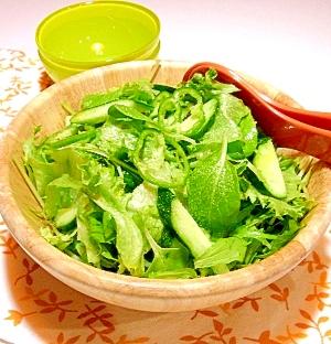 スペイン風グリーンサラダ