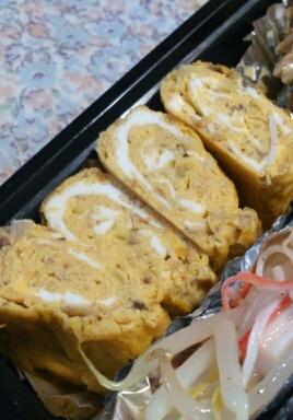 お弁当に☆ねぎサバ味噌玉子焼き