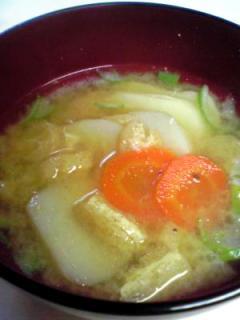 里芋の味噌汁