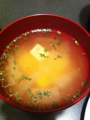 生姜入り!大根と豆腐のお味噌汁