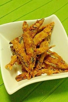 とにかく簡単☆きびなごの生姜塩麹唐揚げ