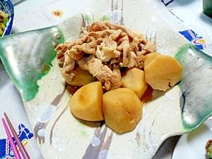里芋と豚肉の甘辛煮