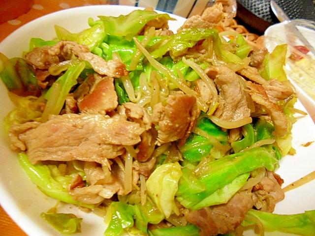 豚こまとキャベツのにんにく炒め レシピ・作り方 by ミスチバス8823|楽天レシピ