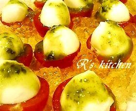 キラキラジュレ☆プチトマトのサラダ