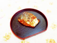 ケチャップ風味♪鯖の香味焼き