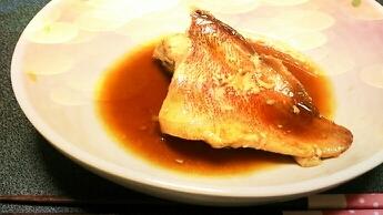 ほっこり赤魚の煮付け(´`)