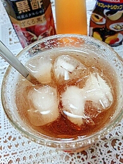 水出し紅茶で☆ジンジャーショコラアイスティー♪