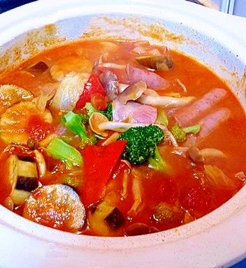 画像 : 真っ赤なスープが食欲そそる!リコピンたっぷり ...